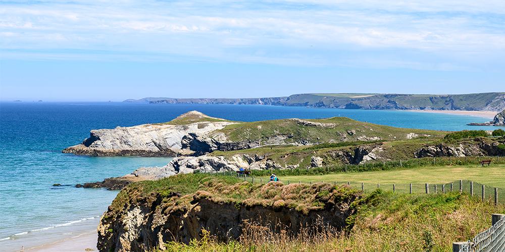 Explore the coastpath in Cornwall